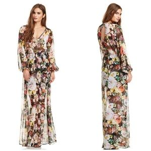 Show Me Your MuMu Jocelyn floral maxi dress